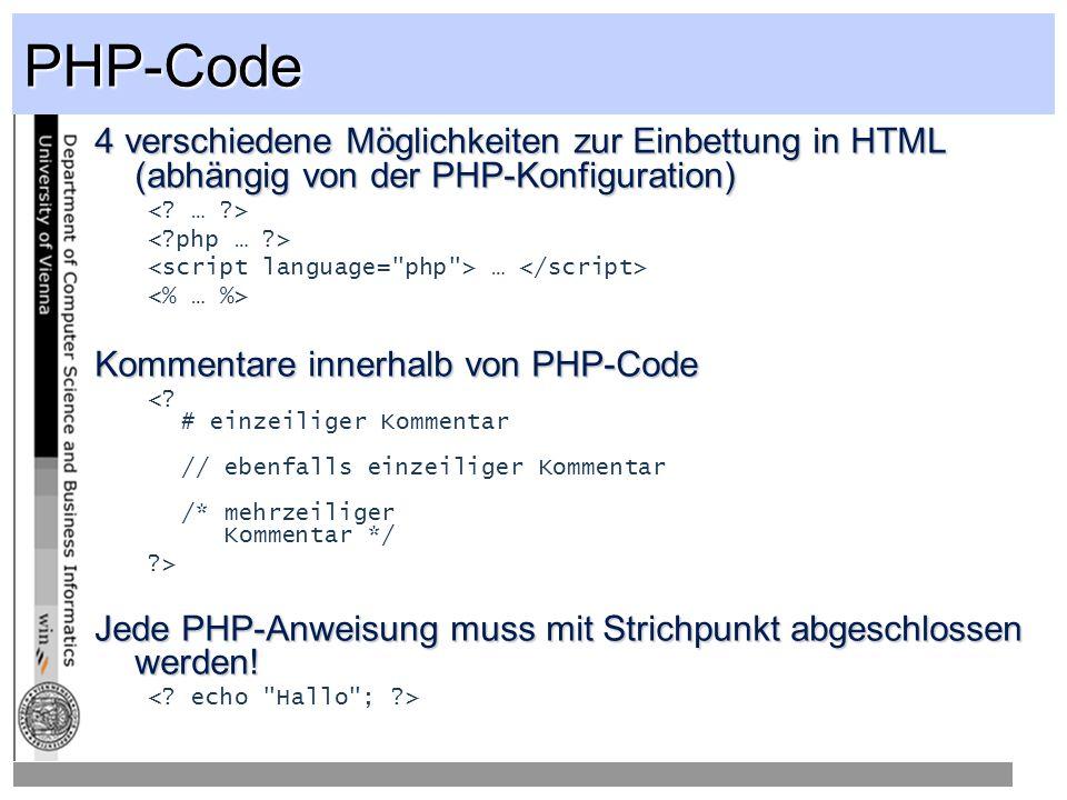 PHP Klassen PHP unterstüzt rudimentäre OOP AnsätzePHP unterstüzt rudimentäre OOP Ansätze<.