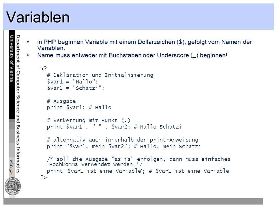 while, do while-Schleifen werden solange durchlaufen, bis der Kontrollausdruck zu FALSE evaluiertwhile-Schleifen werden solange durchlaufen, bis der Kontrollausdruck zu FALSE evaluiert <.