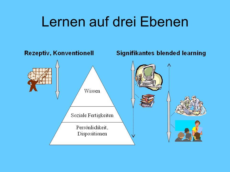 Lernen auf drei Ebenen