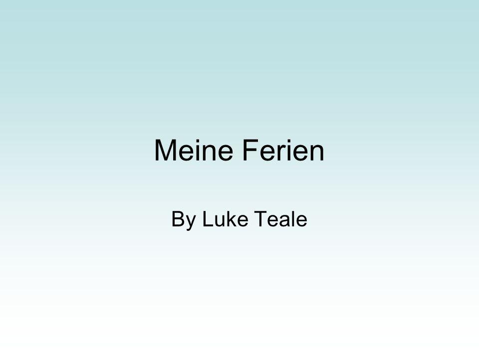 Meine Ferien By Luke Teale
