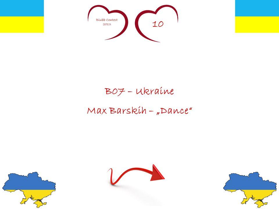 10 B07 – Ukraine Max Barskih – Dance