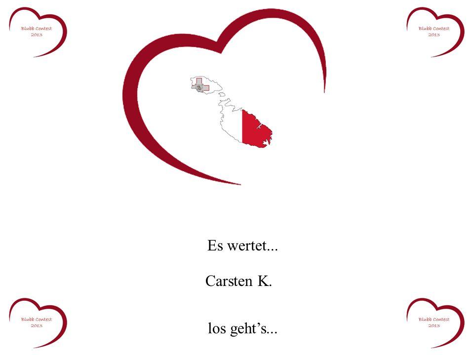 Es wertet... Carsten K. los gehts...