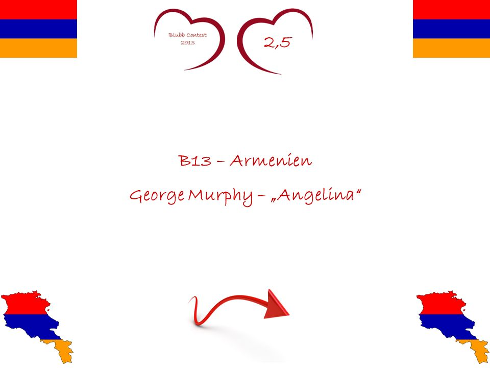 2,5 B13 – Armenien George Murphy – Angelina