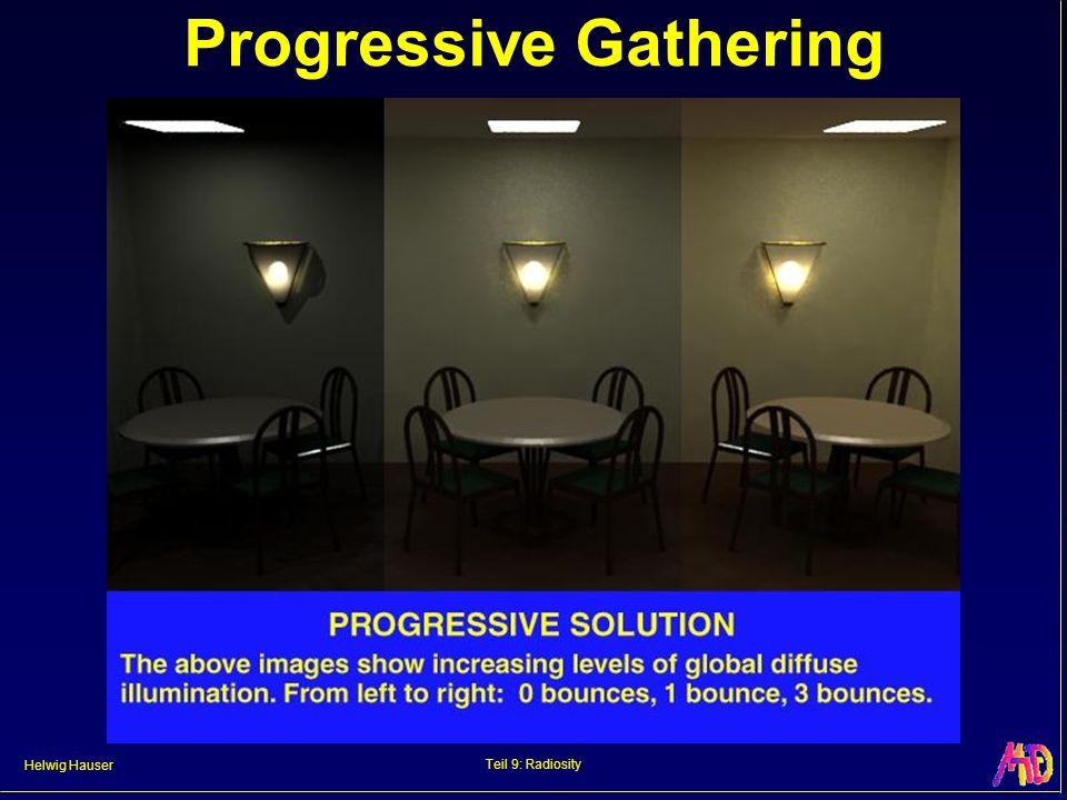 Helwig Hauser Teil 9: Radiosity Progressive Gathering