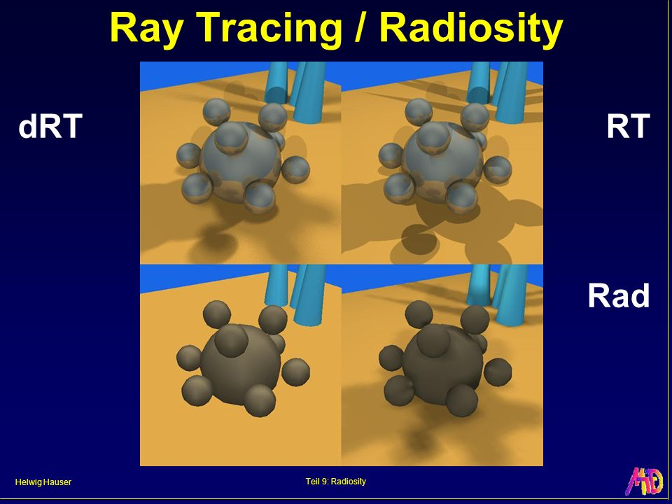 Helwig Hauser Teil 9: Radiosity Radiosity Images