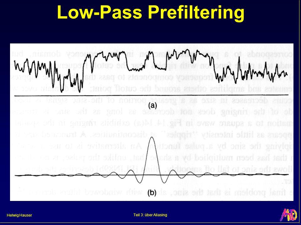 Helwig Hauser Teil 3: über Aliasing Low-Pass Prefiltering