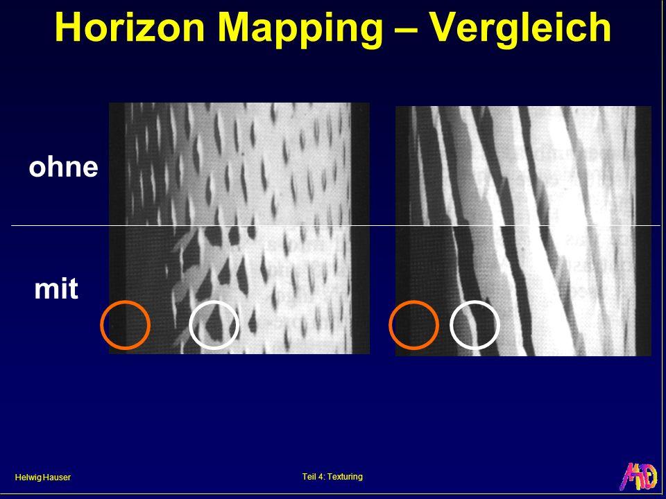 Helwig Hauser Teil 4: Texturing Horizon Mapping – Vergleich ohne mit