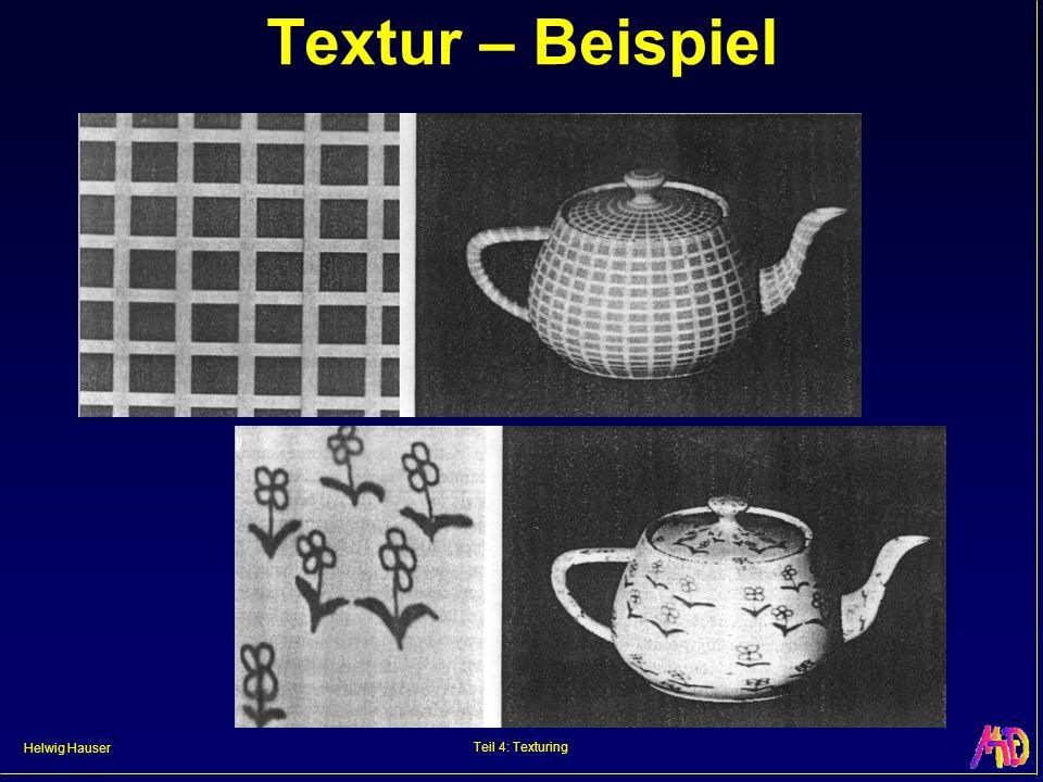 Helwig Hauser Teil 4: Texturing Textur – Beispiel