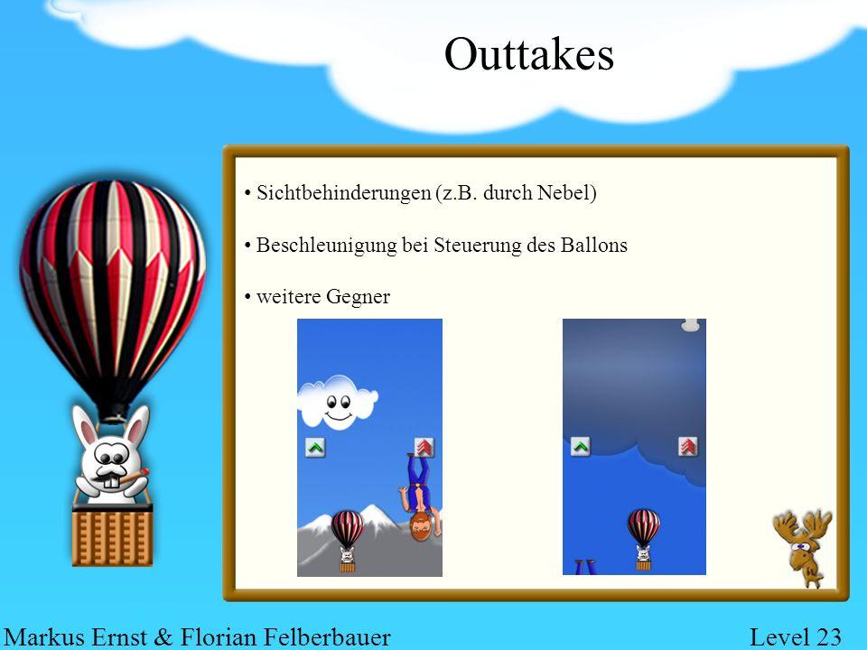 Outtakes Sichtbehinderungen (z.B.