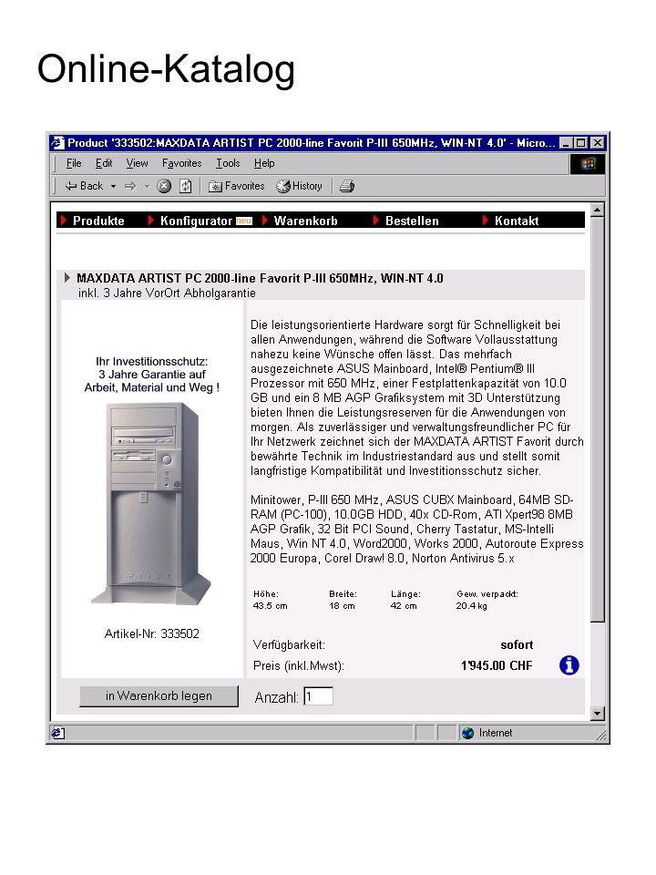 Product 333502:MAXDATA ARTIST PC Favorit P-III 650MHz //<!-- function DataValid(RegistrationData) {...
