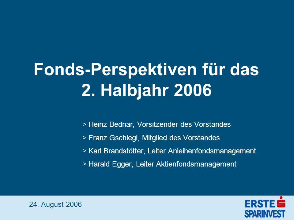 Fonds-Perspektiven für das 2.