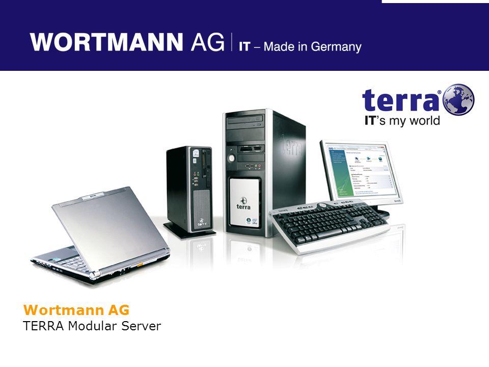 Terra Modular Server Control: Browserbasierende Benutzeroberfläche Die Basis für: System Konfiguration System Monitoring und Management Ermöglicht Fernüberwachung TERRA MODULAR SERVER – Management Software