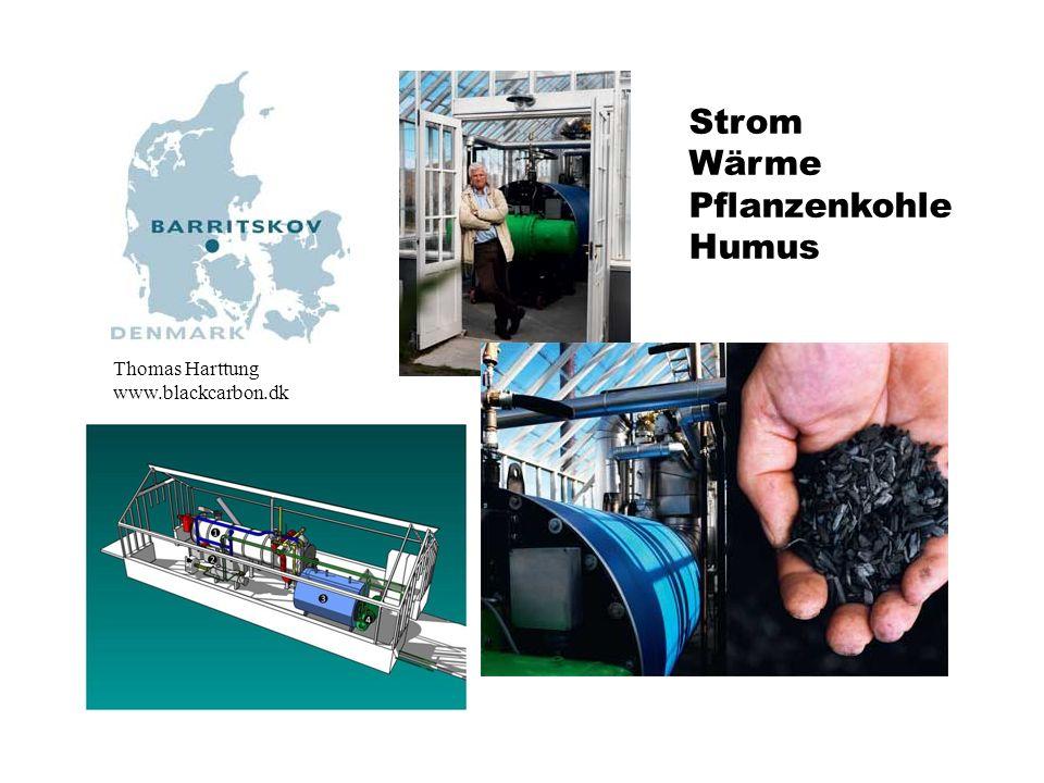 Thomas Harttung www.blackcarbon.dk Strom Wärme Pflanzenkohle Humus