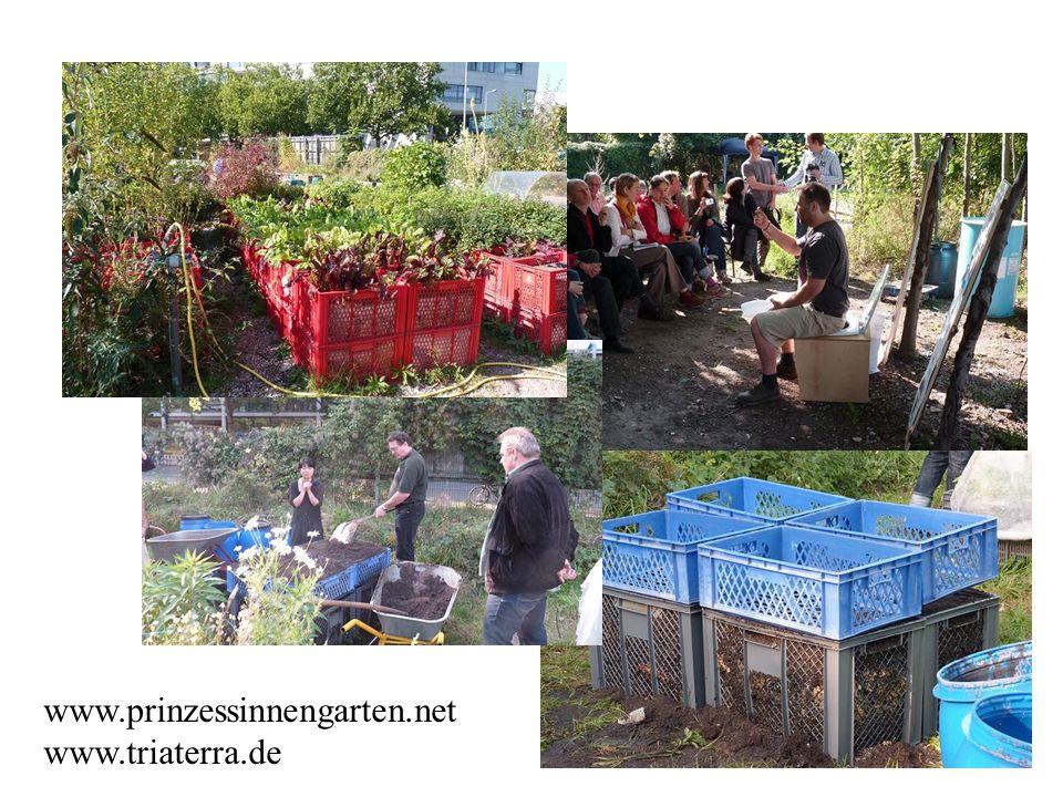 www.prinzessinnengarten.net www.triaterra.de
