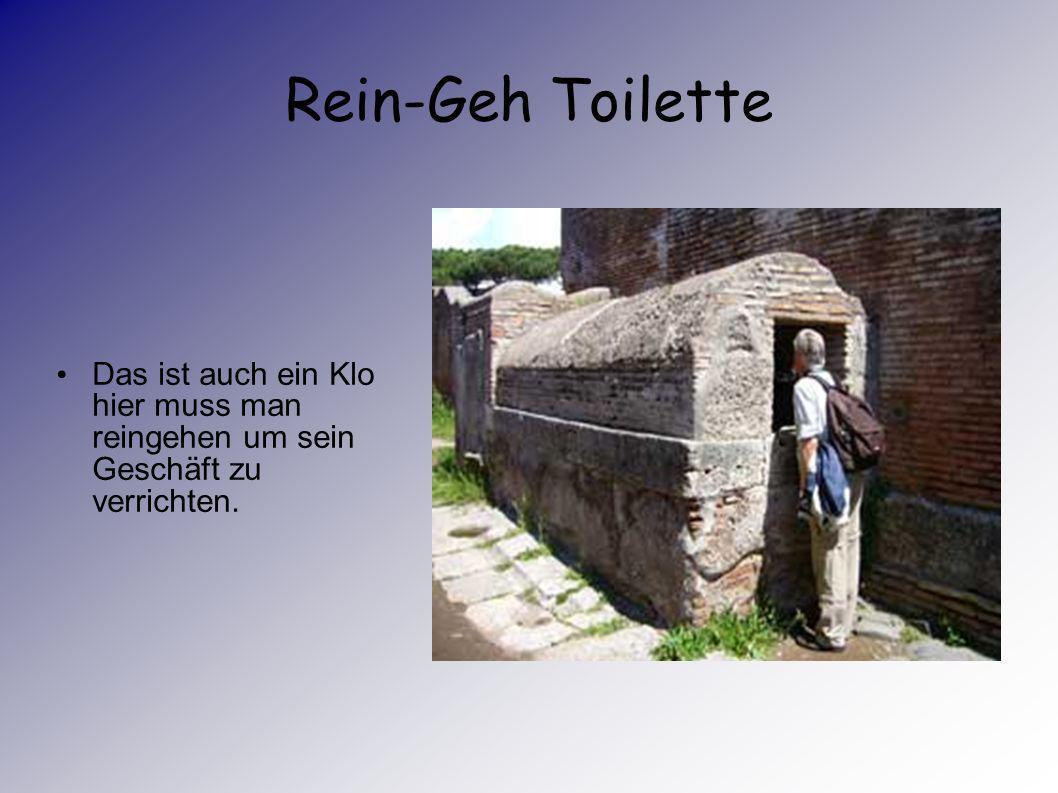 Antike Latrinen 2 Eine Latrine im Hause des Fauns Am Tag konnten die Leute (auch die, die mit der Cloaca (Abwasserkanal) verbunden waren) auch öffentl