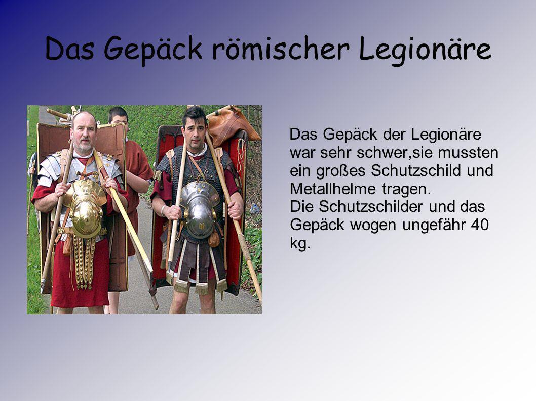 Das sind Römische Legionäre