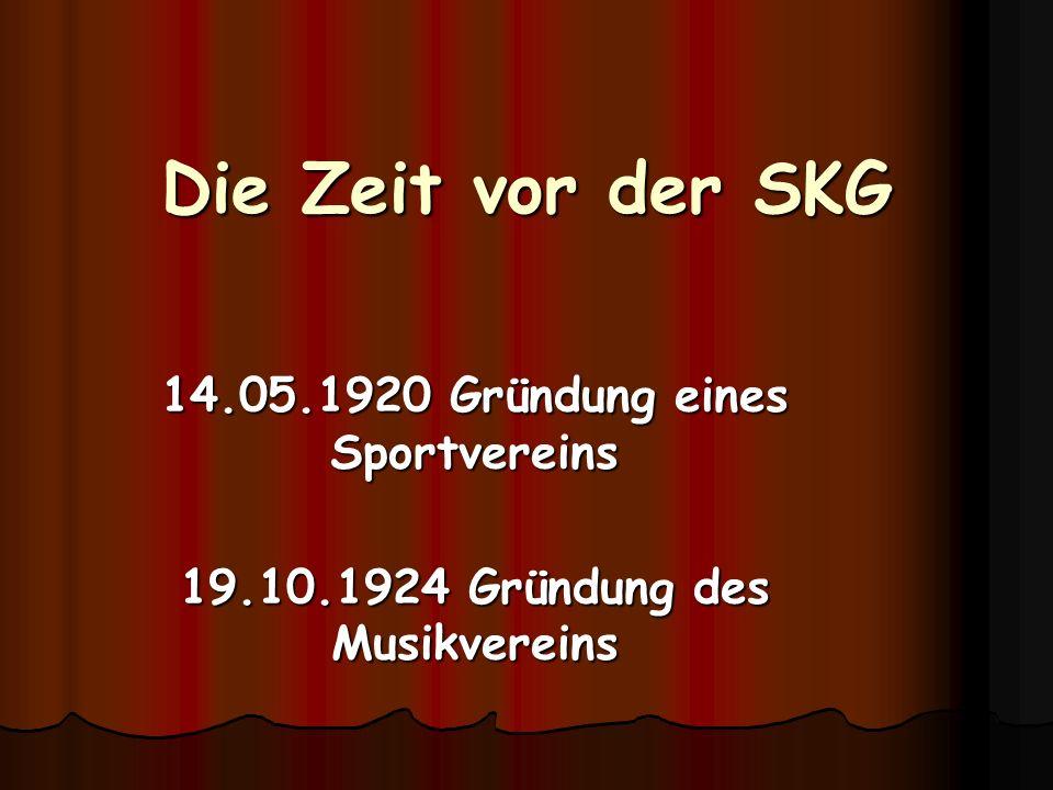 SKG Erbstetten 1947 e.V. 22.02.1947Gründungsversammlung