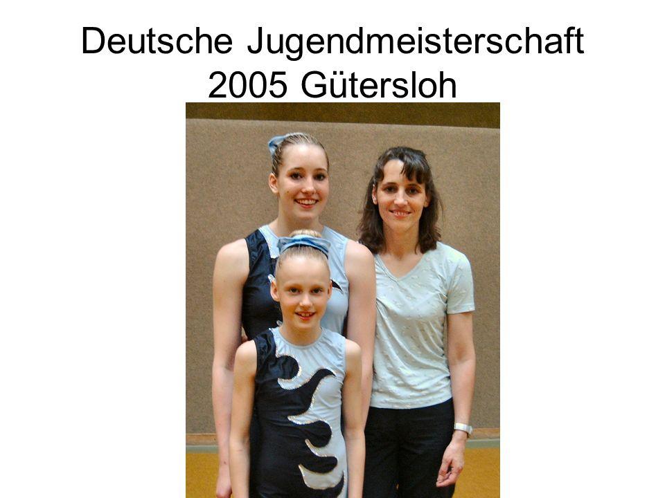 Deutsche Jugendmeisterschaft 2005 Gütersloh
