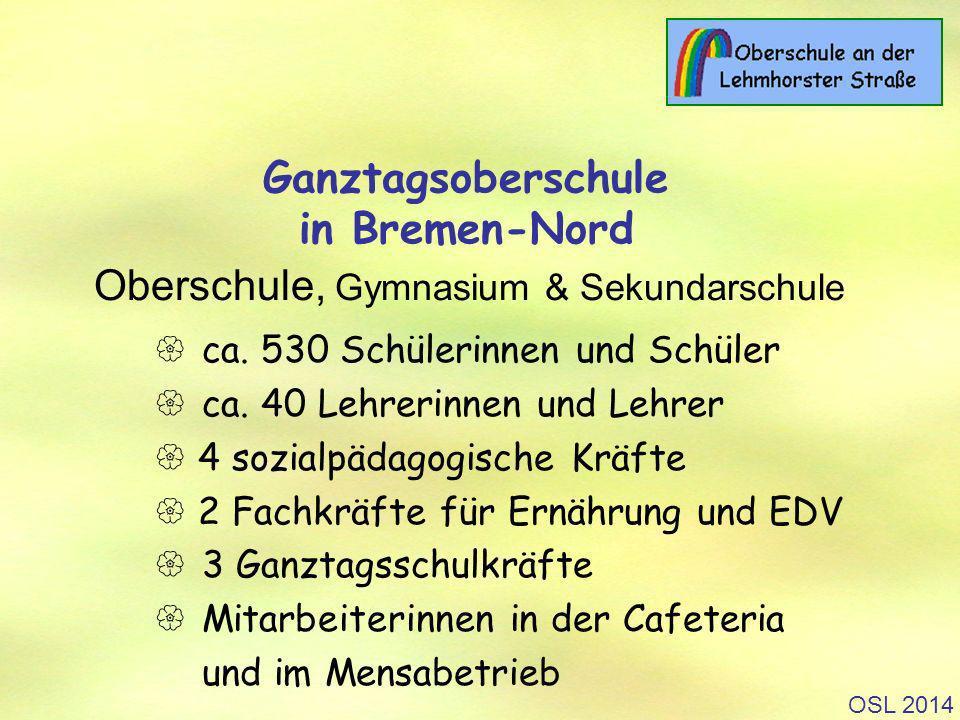 OSL 2014 Ganztagsoberschule in Bremen-Nord Oberschule, Gymnasium & Sekundarschule ca.