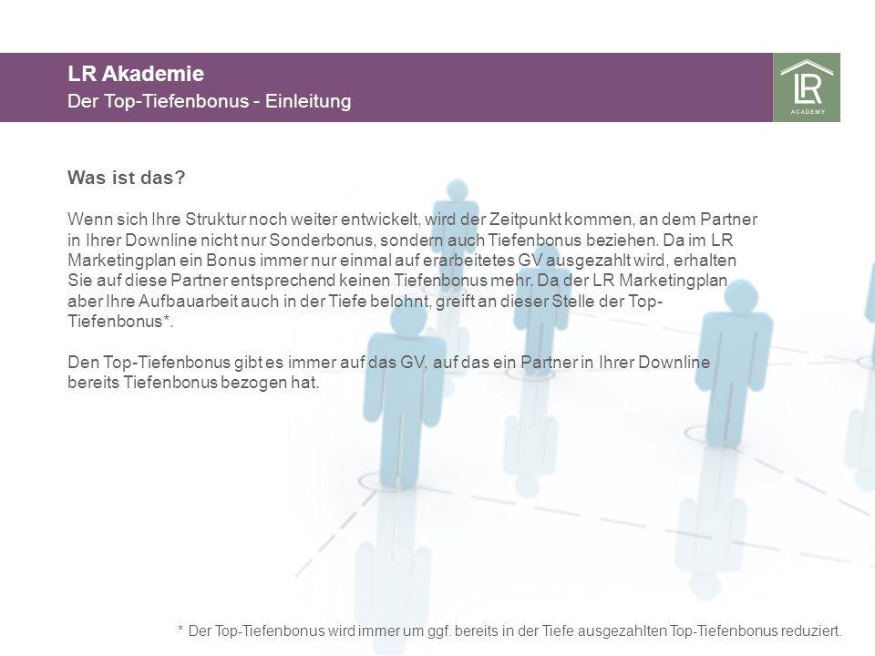 LR Akademie Der Top-Tiefenbonus - Einleitung Was ist das.