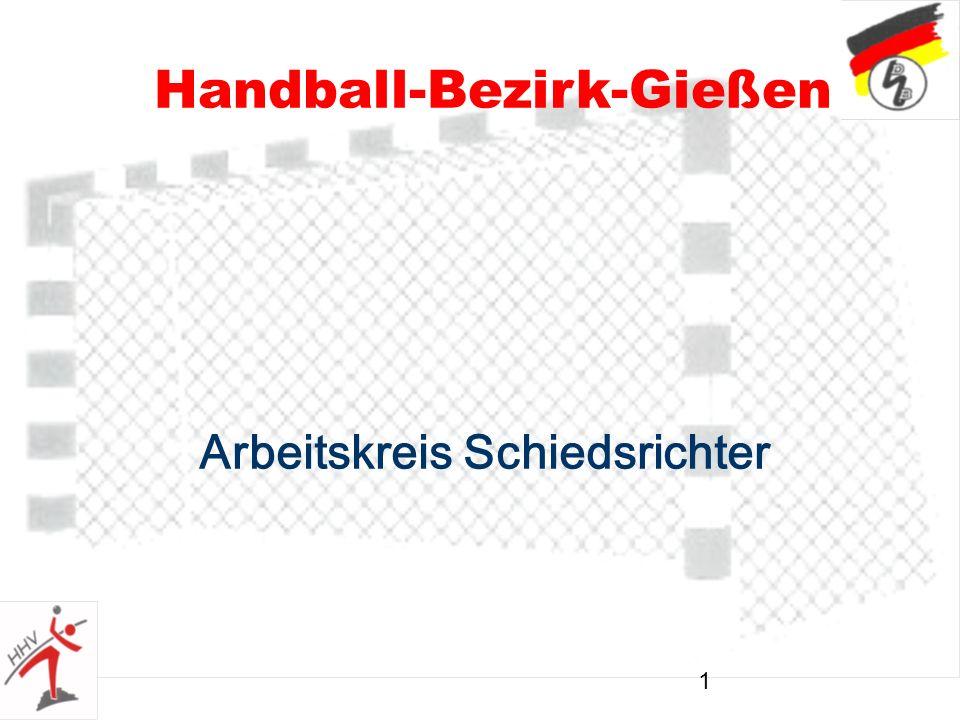 1 Handball-Bezirk-Gießen Arbeitskreis Schiedsrichter