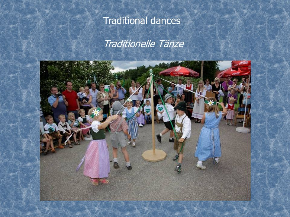 Traditional dances Traditionelle Tänze