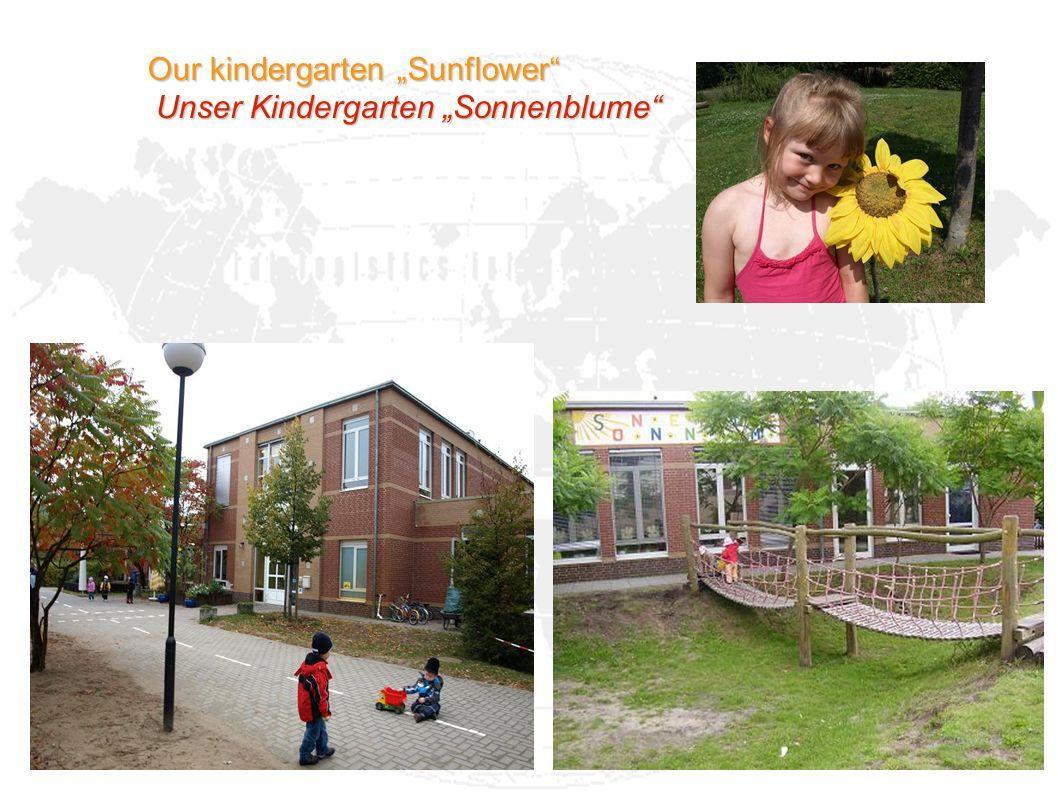 Our kindergarten Sunflower Unser Kindergarten Sonnenblume