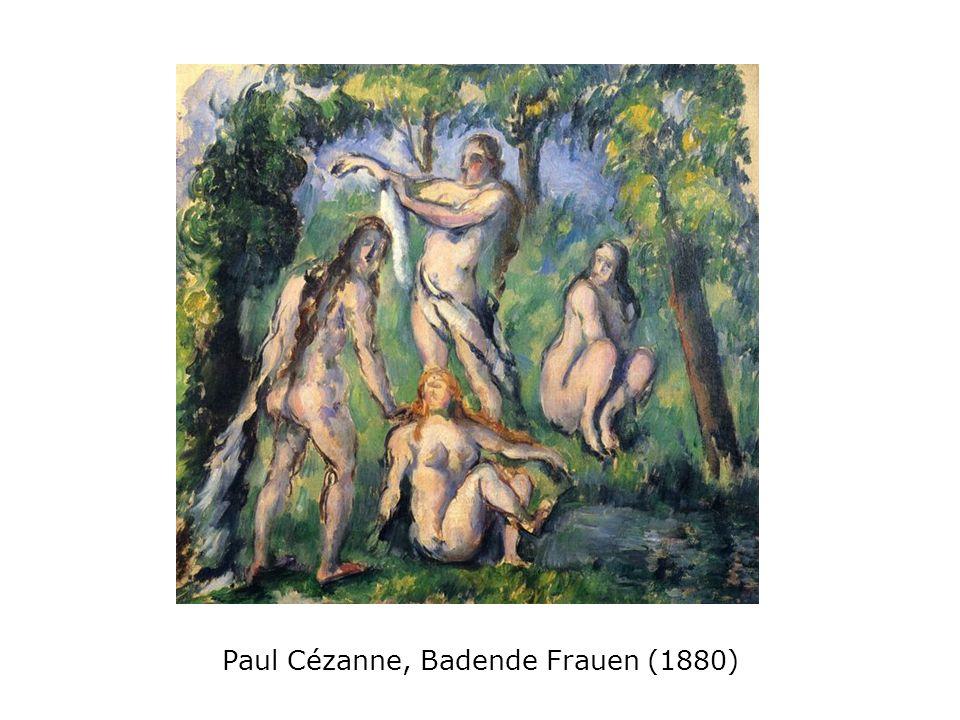 Paul Cézanne, Badende Frauen (1880)