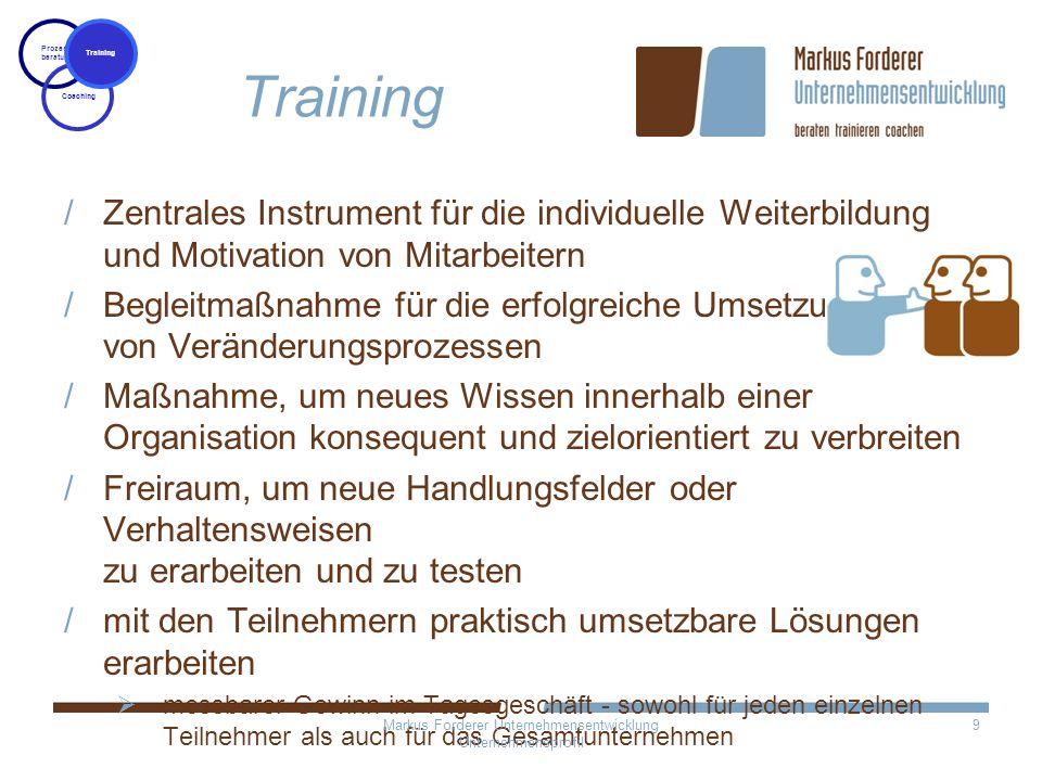 Zentrales Instrument für die individuelle Weiterbildung und Motivation von Mitarbeitern Begleitmaßnahme für die erfolgreiche Umsetzung von Veränderung