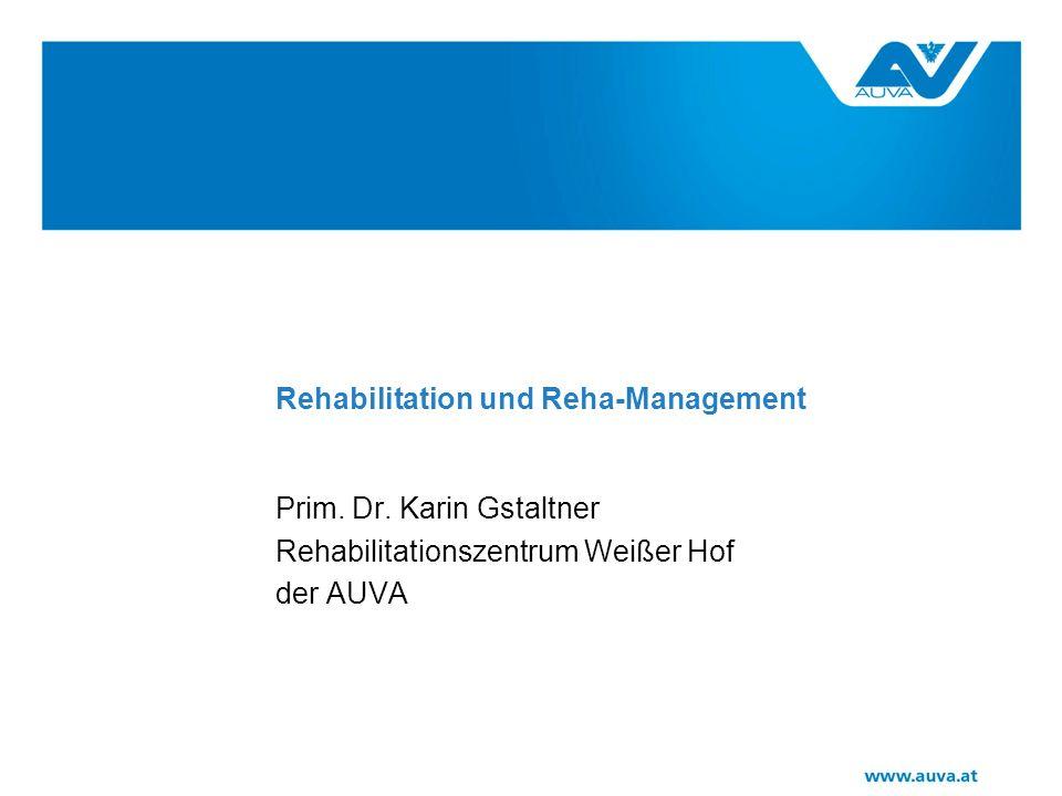 Rehabilitation und Reha-Management Prim.Dr.