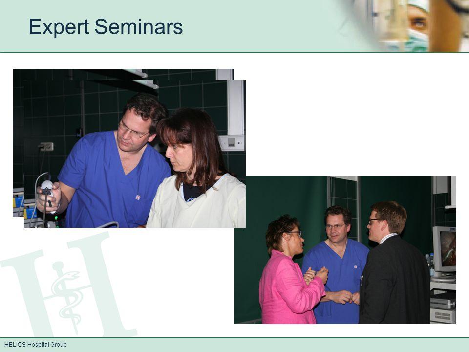 HELIOS Hospital Group Expert Seminars