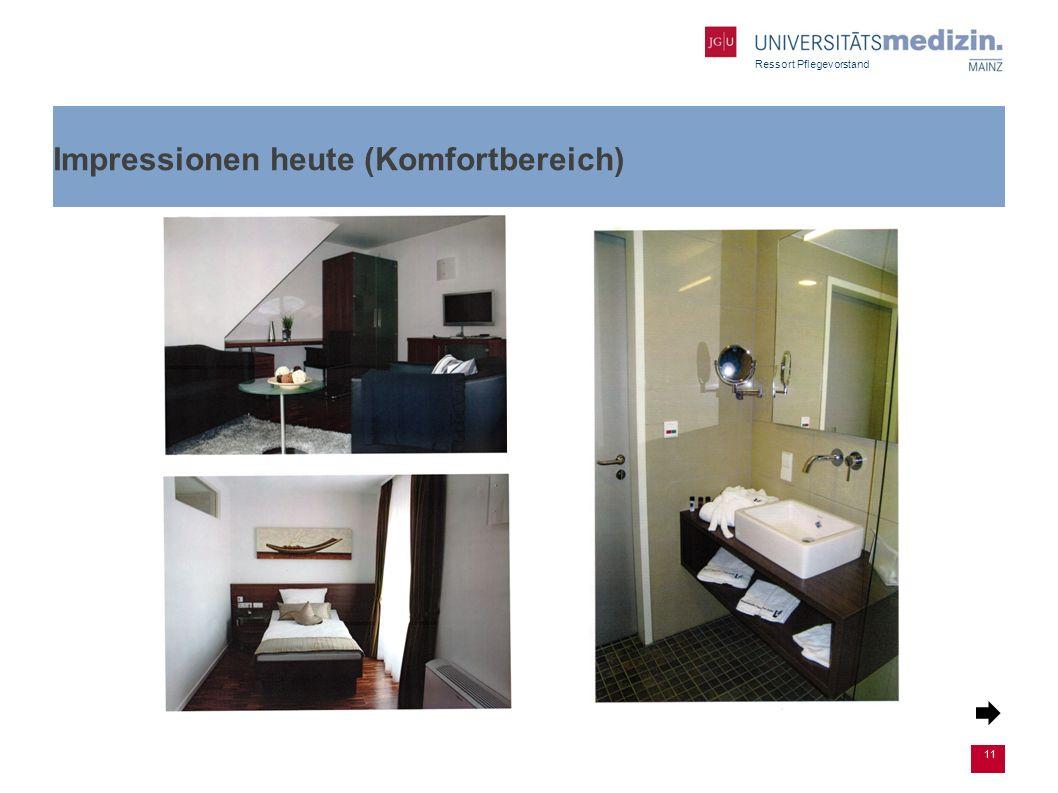 Ressort Pflegevorstand Impressionen heute (Komfortbereich) 11