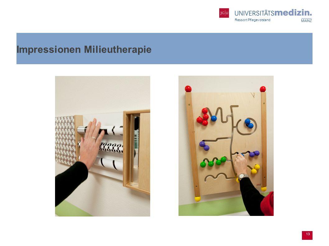 Ressort Pflegevorstand Impressionen Milieutherapie 13