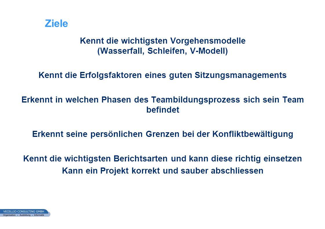 wwgs1.ch 83 Fallstudie Bauhandel AG Teilaufgabe h) Projektabschluss