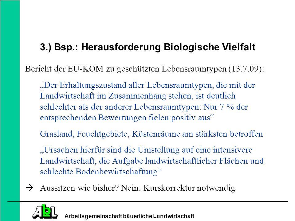 Arbeitsgemeinschaft bäuerliche Landwirtschaft 5.) Einkommensfunktion von Direktzahlungen?