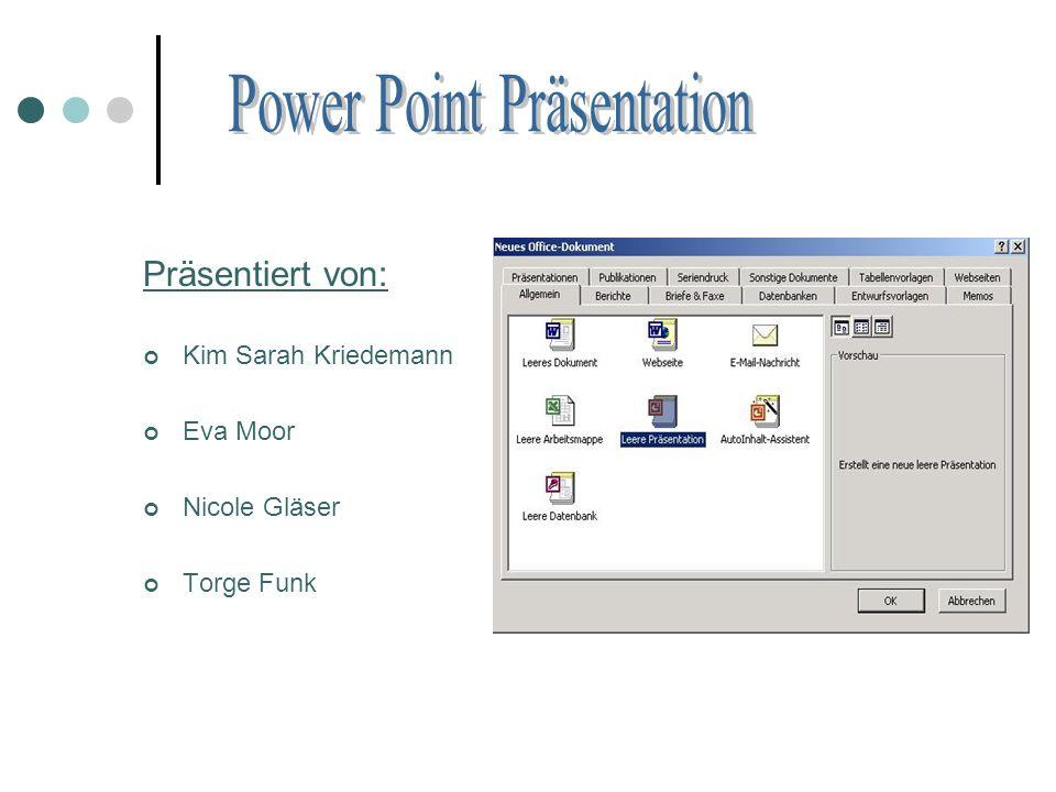 Vortrag: ständiges Text ablesen Blickkontakt vermeiden Keine Hilfsmittel in den Vortrag mit einbringen Zu lange bzw.