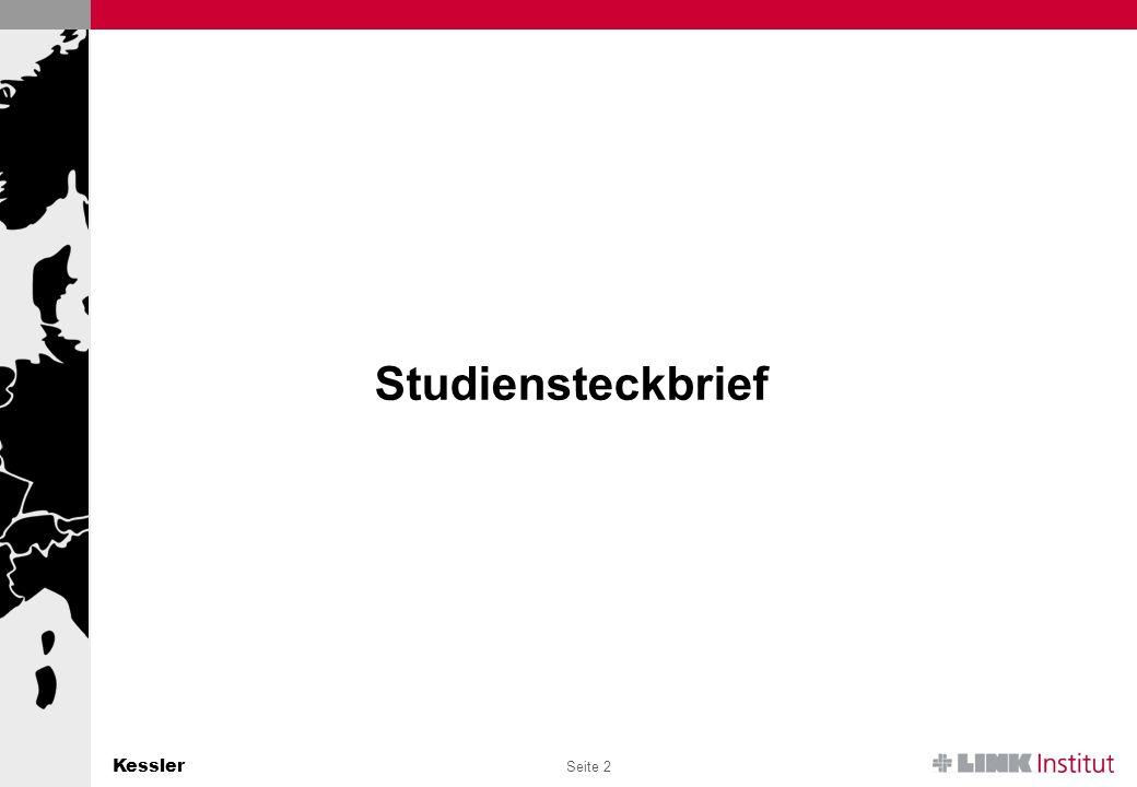 Kessler Seite 2 Studiensteckbrief