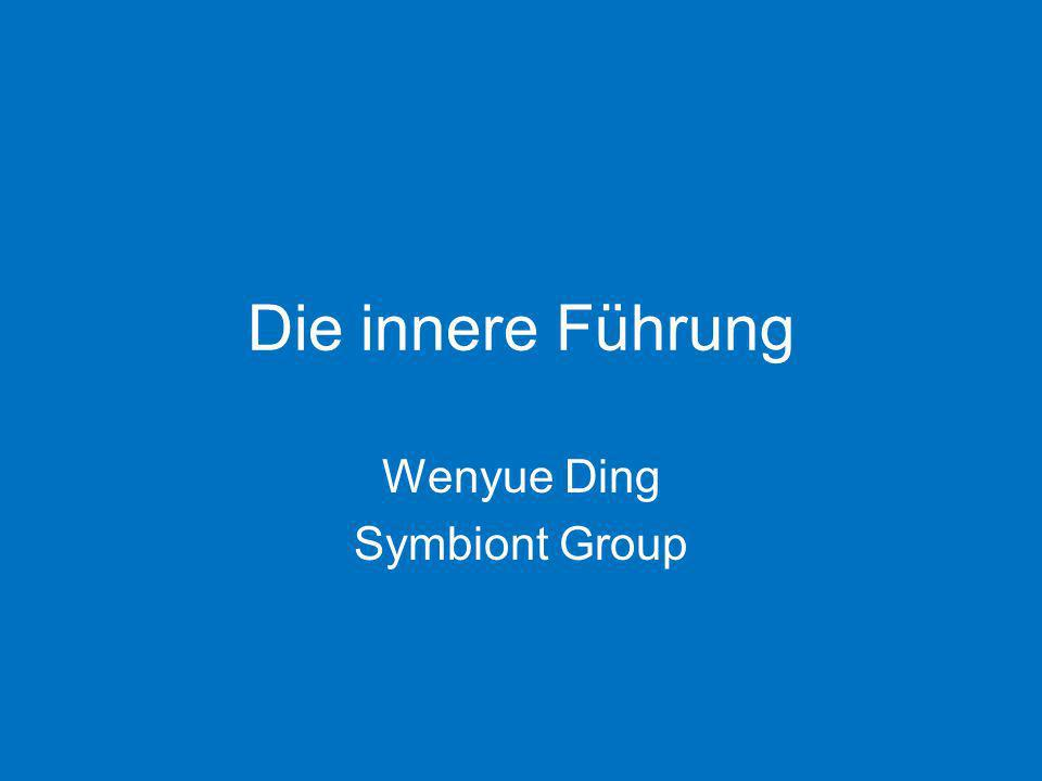 Die innere Führung Wenyue Ding Symbiont Group