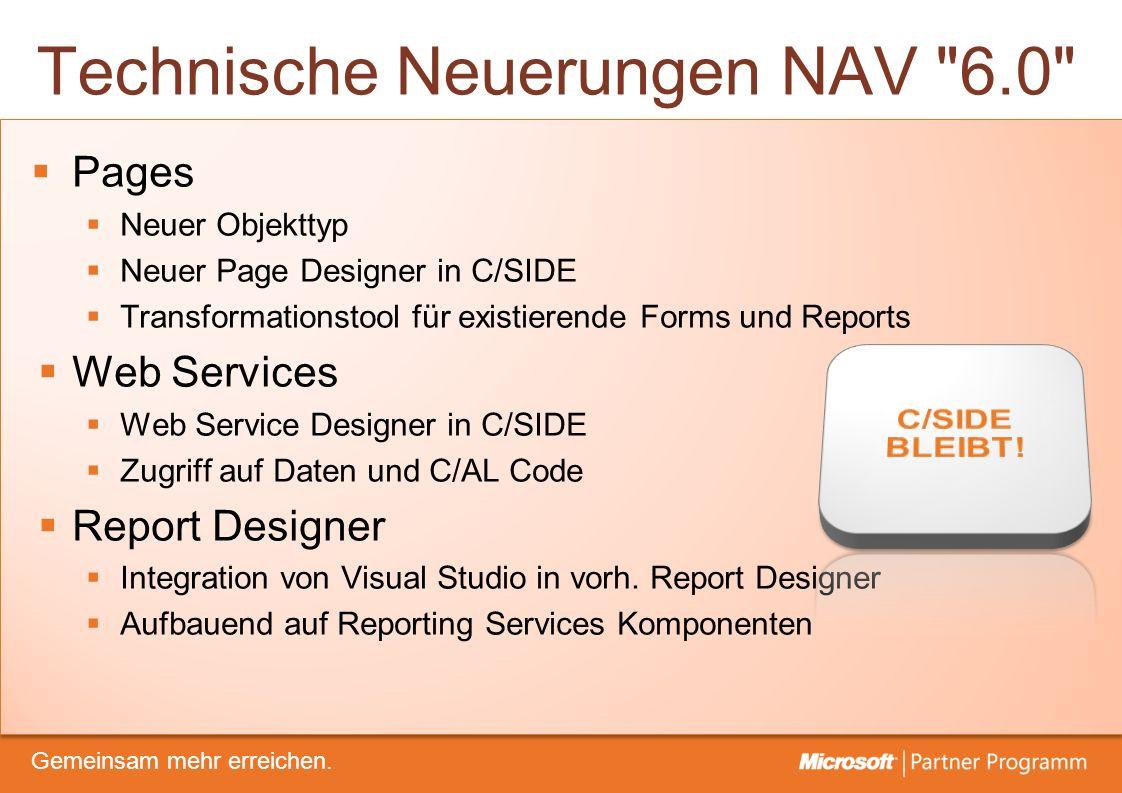 © degroupwww.degroup.de Gemeinsam mehr erreichen. Technische Neuerungen NAV