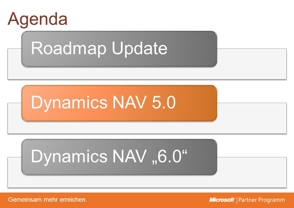© degroupwww.degroup.de Gemeinsam mehr erreichen. Agenda Roadmap UpdateDynamics NAV 5.0Dynamics NAV 6.0