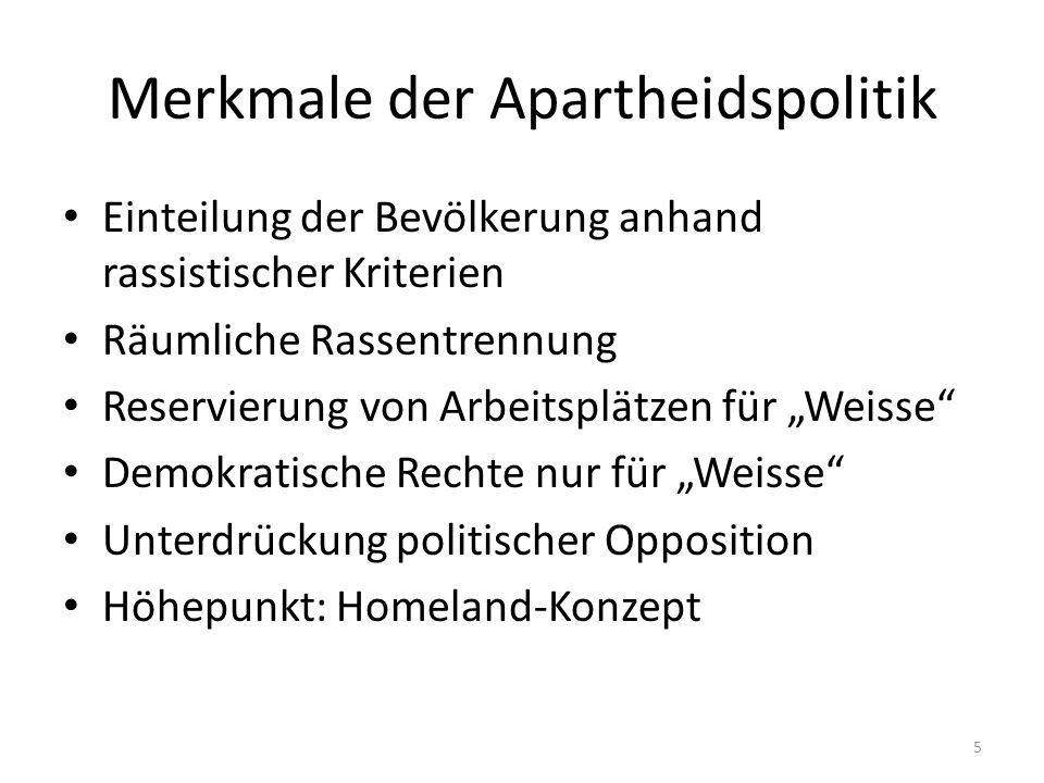 6 Gliederung 1.Was ist Apartheid.