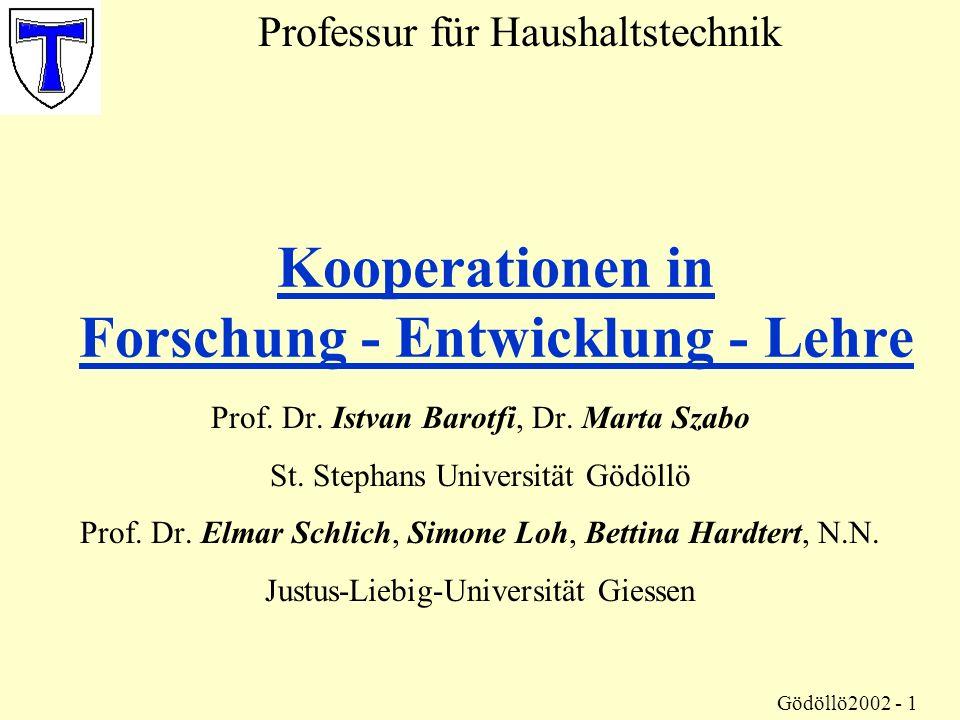 Haushaltstechnik Prof.Dr.