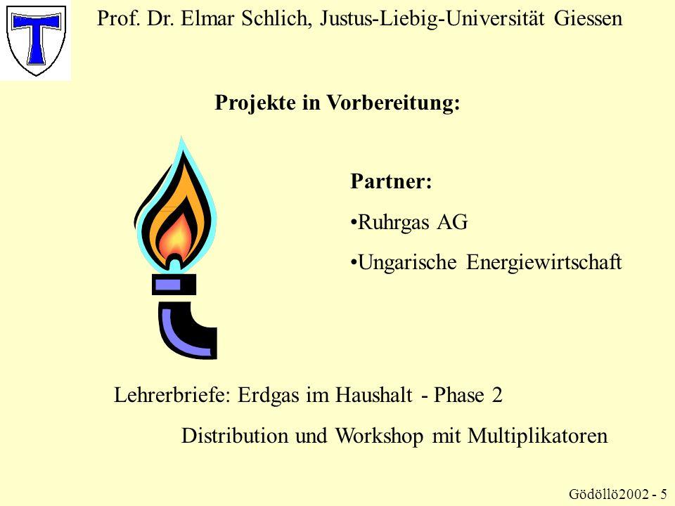 Projekte in Vorbereitung: Prof.Dr.