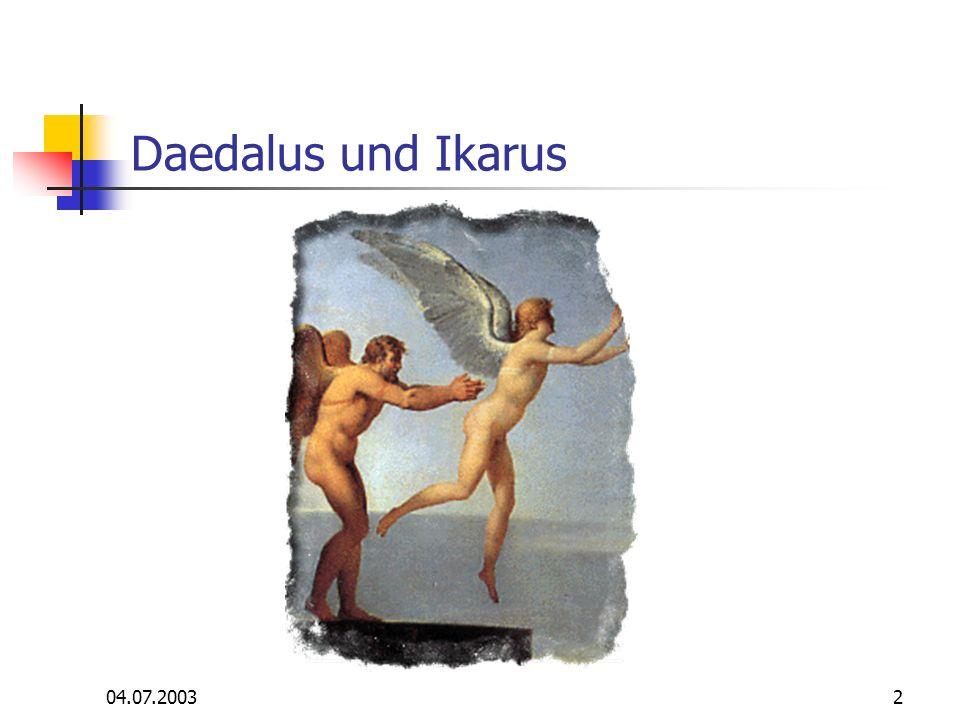 2 Daedalus und Ikarus