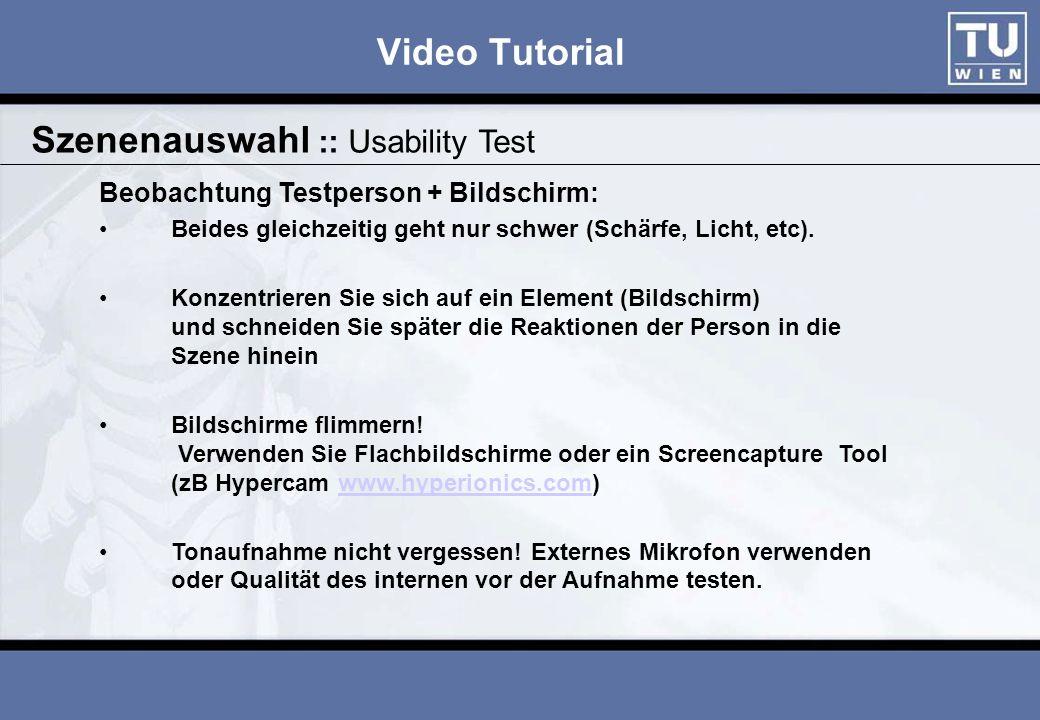 Video Tutorial Je nach Kameratyp v ia SVHS, VideoIn, DVI, USB, … Überspielen :: Kamera PC DigitalKameraAnalog Bei Aufnahme Audio (Soundkarte) nicht vergessen!