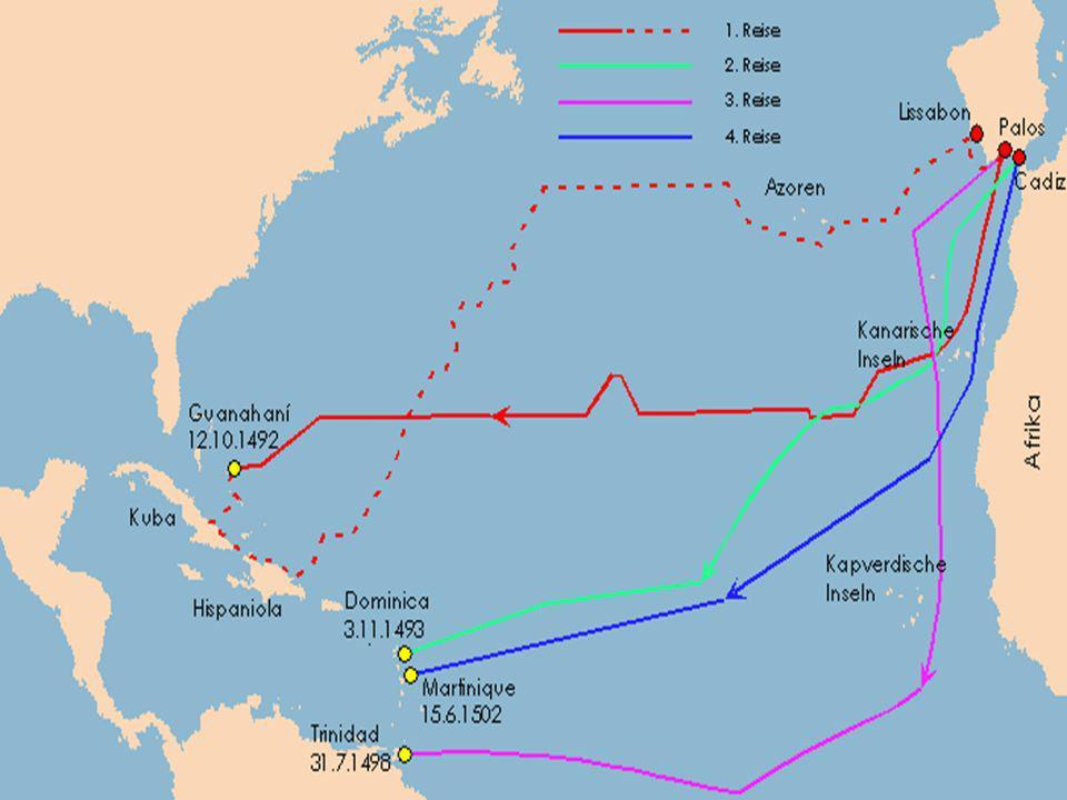 Entdeckung Amerikas erste Entdecker von Amerika: Wikinger Columbus entdeckte Amerika neu erst nach seinem Tod (1506) wurde klar, dass er neuen Kontinent entdeckt hatte Amerika nach Amerigo Vespucci (Seefahrer) benannt