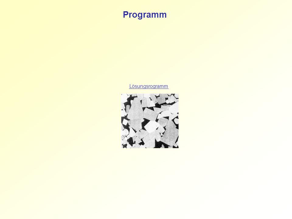 Lösungsrogramm Programm