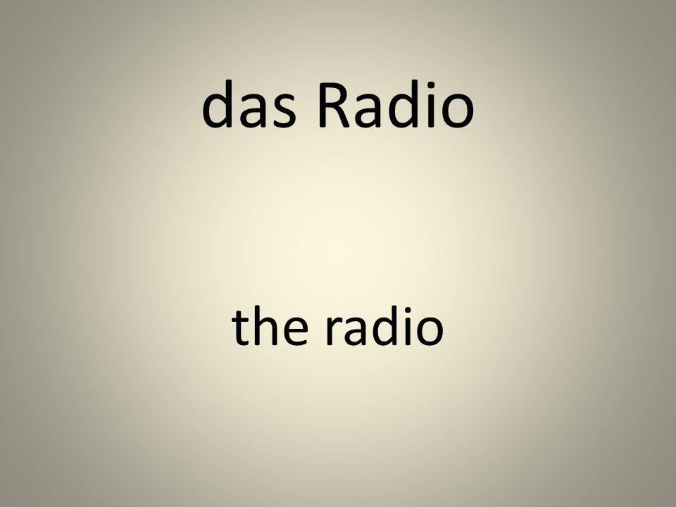 das Radio the radio