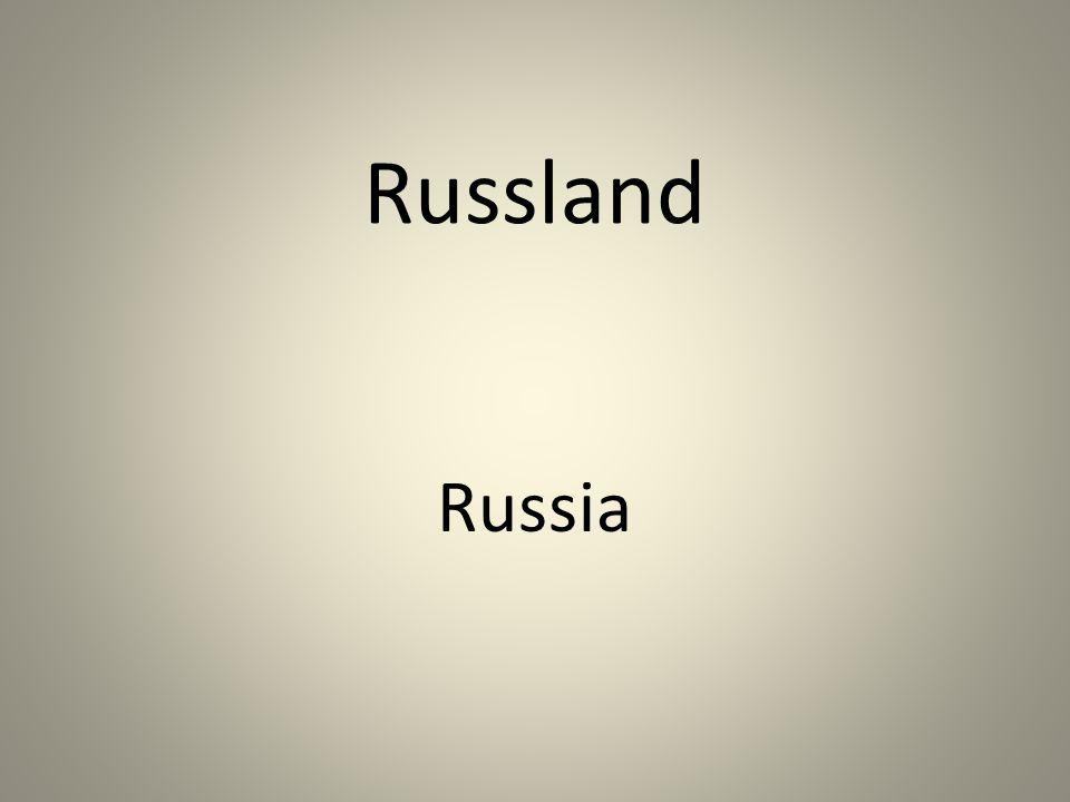 Russland Russia