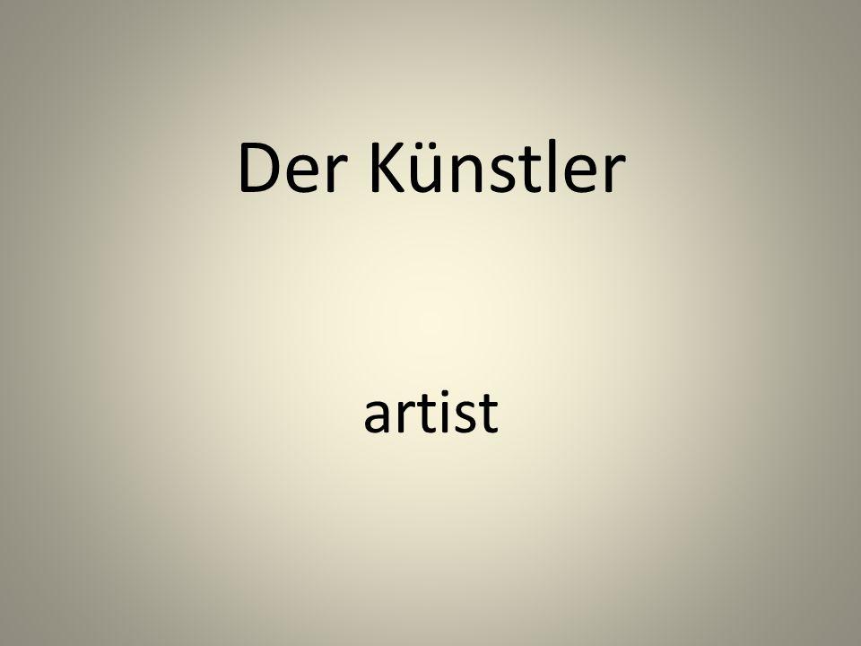 Der Künstler artist